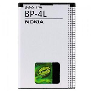 NEU AKKU ORIGINAL NOKIA BP-4L E52 E55 E63 E71 E72 E73 E90 N810 N97 BATTERY - France - État : Neuf: Objet neuf et intact, n'ayant jamais servi, non ouvert, vendu dans son emballage d'origine (lorsqu'il y en a un). L'emballage doit tre le mme que celui de l'objet vendu en magasin, sauf si l'objet a été emballé par le fabricant d - France