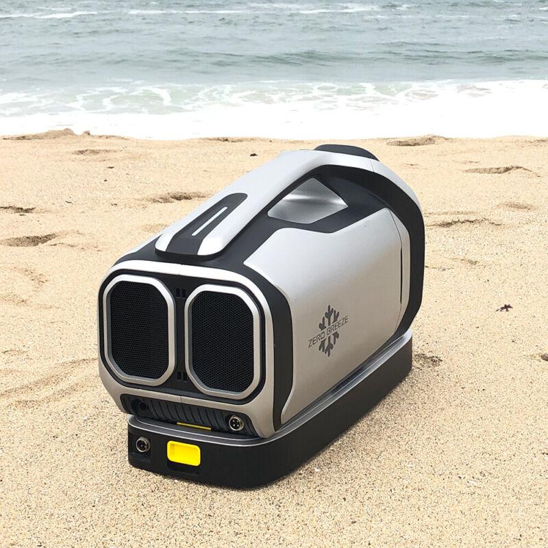 ZERO BREEZE outdoor portable air conditioner compressor refrigeration fan DC24V