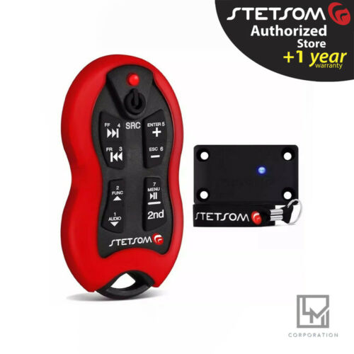 Stetsom SX2 Red - Long Distance Remote Control - 16 Functions - Free Lanyard