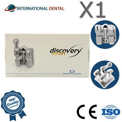 Orthodontic Dental Discovery Smart Metal Brackets Kit Mbt 345 Hooks Braces
