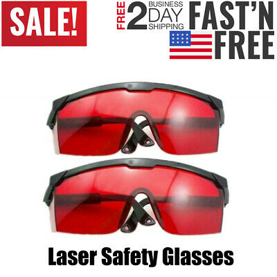 2PCS Laser Eye Protection Safety Glasses Goggles for UV Lasers/Beauty Protective