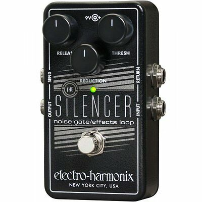 Electro Harmonix The Silencer Noise Gate Built In Effects Loop Guitar Pedal