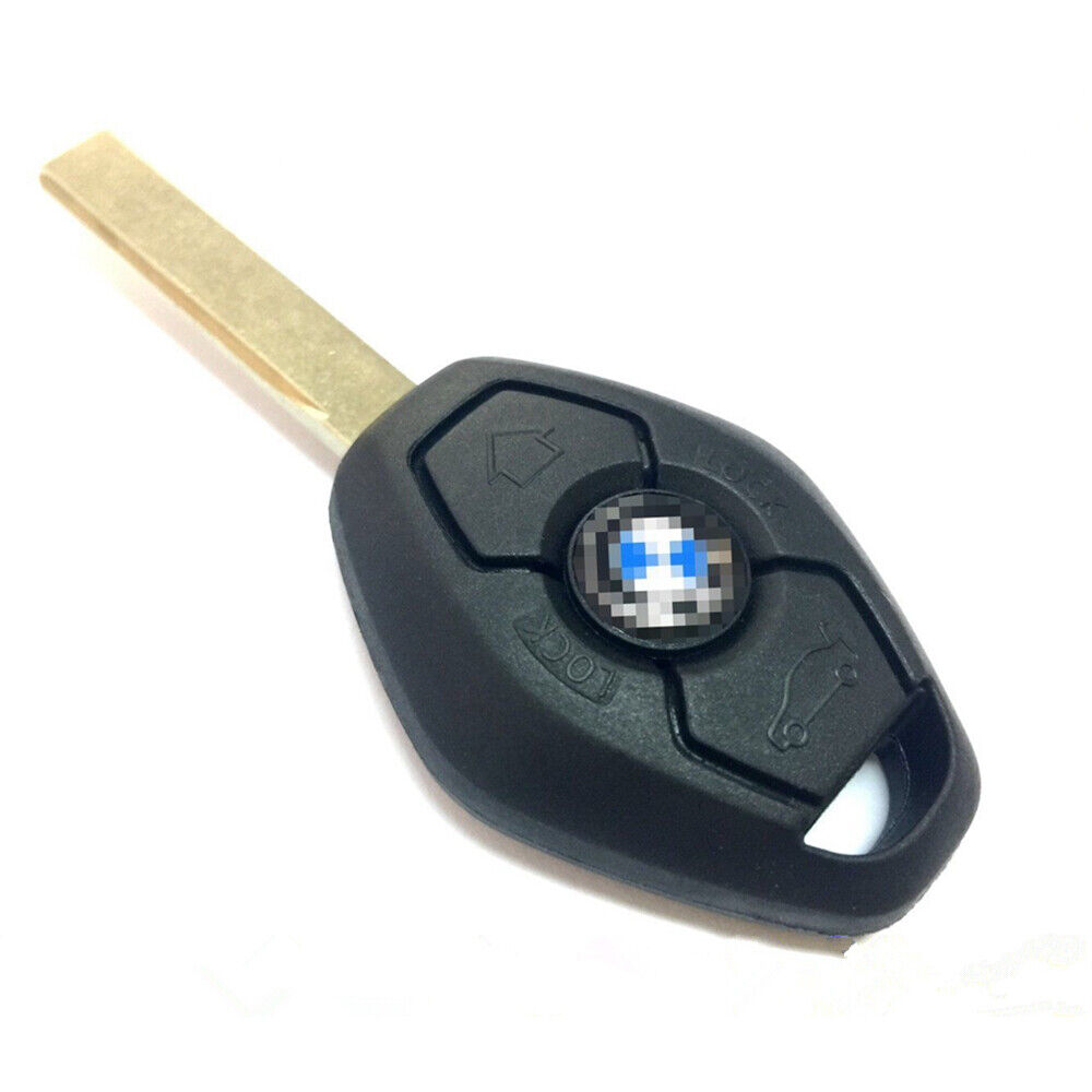 Uncoded Chip Keyless Remote Transmitter Fob Complete Key