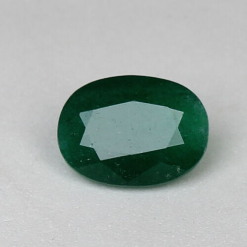 Natural Green Emerald Colombian 8.50 Ct Oval Cut Loose Certified Gemstone
