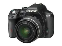 Pentax K-50 DSLR Camera with DAL 18-55 mm WR Lens Kit