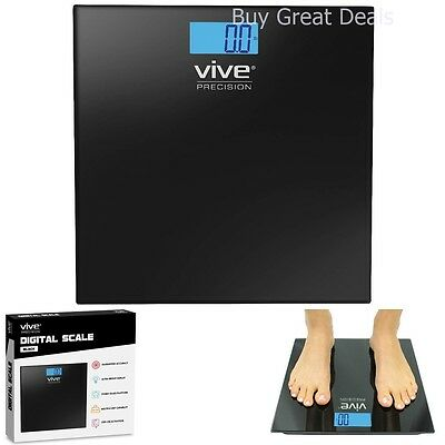 Digital Bathroom Scale by Vive Precision - Best Selling Accurate Weight