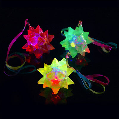 Flashing Jelly Crystal Star Necklace (Flashing Star Necklace)