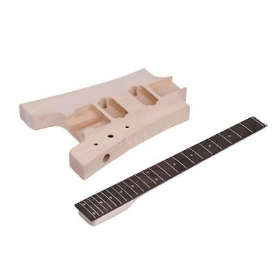 Muslady DIY Electric Guitar Kit NEW – Build Your Own Guitar 6 String V5Y6