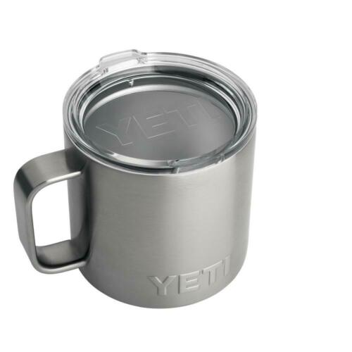 YETI Rambler 14oz Stainless Steel Vacuum Insulated Mug with Standard Lid