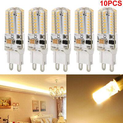 10 Pack LED G9 Warm/Daylight White LED Corn Bulb Lamp Light 120V AC US Sgipping (120v Light Bulb Lamp)