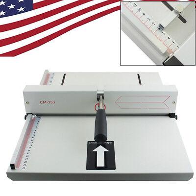Manual Scoring Cards Paper Creasing Machine Creaser Scorer Magetic Lock Office