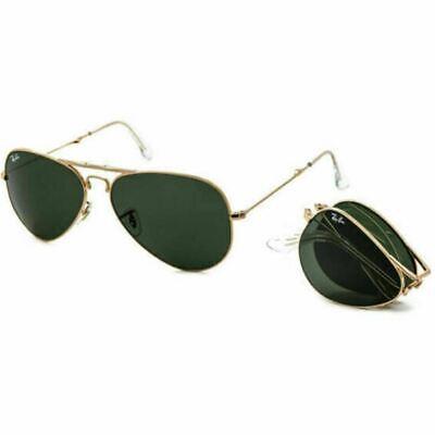 Ray-Ban Aviator Foldable Unisex Sunglasses Green Classic G-15 Lens RB3479 001 (Foldable Aviator Sunglasses Ray Ban)