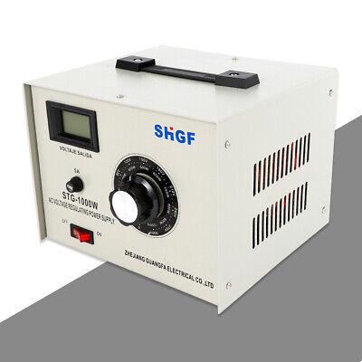 Stg-1000w Variac Autotransformer Voltage Regulator Powerstat 0-300v Output Great