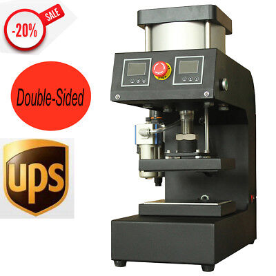 Pneumatic Rosin Small Plane Presses Small Hot-pressing Machine Double-sided