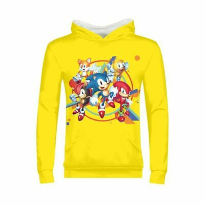 The Hedgehog Sonic Boys Girls Hoodie Long Sleeve Pullover Shirt Sweatshirt Gifts](Sonic Girls)