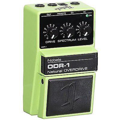 Nobels Electronics ODR-1 Natural Overdrive Guitar Effects Pedal + Spectrum