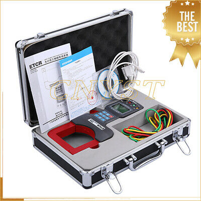 Etcr7300a Lcd Large Caliber Three Phase Power Tester Gauge With Rs232 Interface