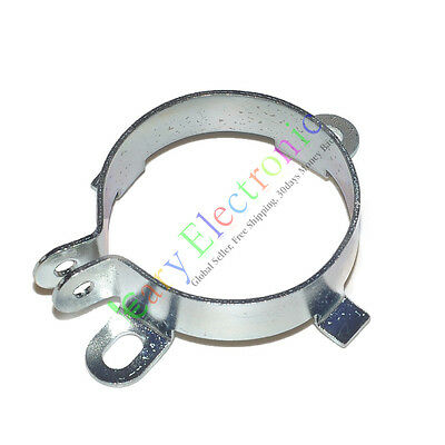 4x 35mm 1-38 Film Electrolytic Can Capacitor Tube Socket Audio Amp Metal Clamp