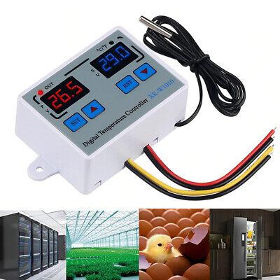 Dc12v Incubator Digital Temperature Controller Thermostat Switch Probe Tester