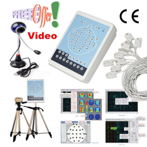 KT88 Portable EEG Machine And Mapping System 16-channel EEG Video SOFTWARE