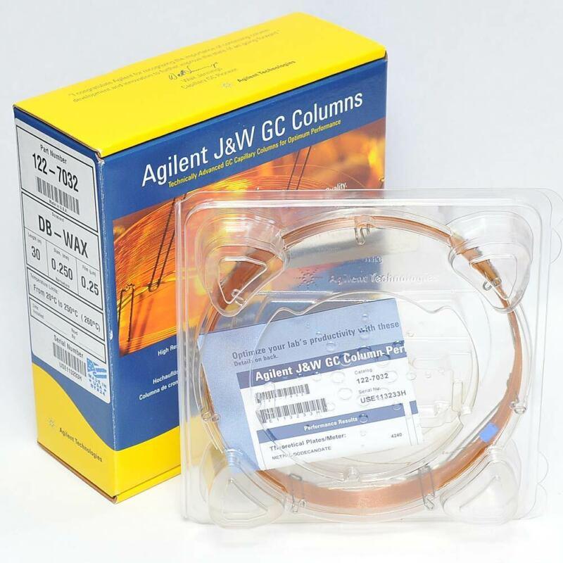 NEW Agilent 122-7032 DB-WAX J&W GC Column 30 m, 0.25 mm, 0.25 µm, 7 inch