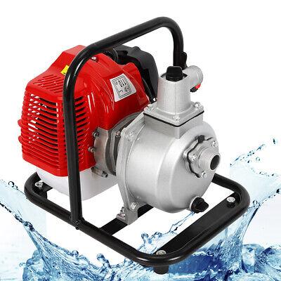 1 2 Stroke 1.7hp Petrol Water Transfer High Pressure Pump Flow Irrigation Pump