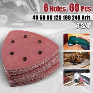 Sanding Discs Sheet Triangle Mouse Sandpaper Grinder Pads Sander Hook and Loop