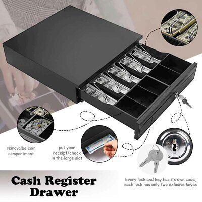 Money Box 5bill 5coin Cash Register Drawer Tray Epsonstar Pos Machine Rj11rj12