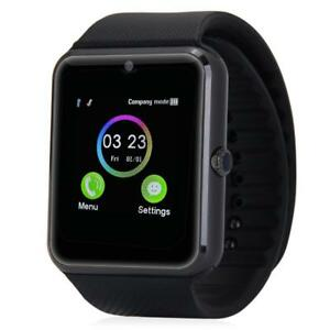 All Black GT08 Smart Watch- BNIB- Shipping Available