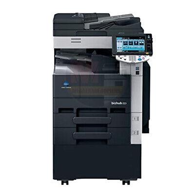 Konica Minolta Bizhub 283 Mono A3 Laser Multifunction Printer Copier Scan 28 Ppm