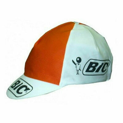 Cycling Cap Radmütze Vintage Retro Rennrad Fixe Singlespeed Apis schwarz