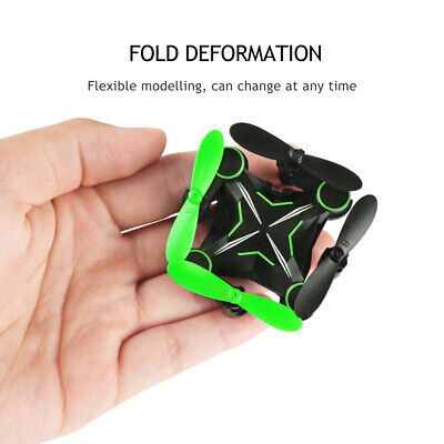 RC Drone Foldable Mini Quadcopter With 720p HD Camera Selfie 2MP WiFi FPV RC Toy