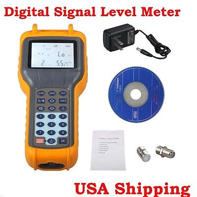 From Usa Ry-s110 Catv Cable Tv Digital Signal Level Meter Db Tester 47870mhz