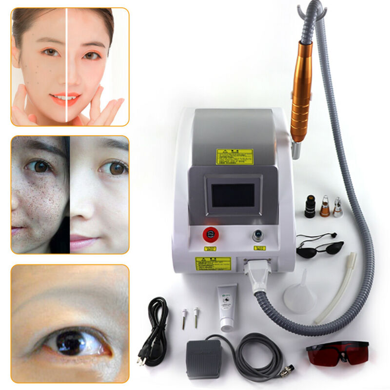 Nd YAG Laser Eyebrow Pigment Tattoo Removal Beauty Machine ML Beauty Salon Euip