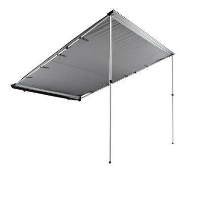 Car Side Awning 6.6x8.2ft Rooftop Tent Sun Shade SUV Outdoor Camping Travel Grey