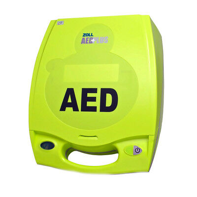 Zoll Aed Plus (Zoll AED Plus Semi Automatic AED with New Batteries 2021 Pads Two Year Warranty)