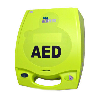 Zoll Aed Plus Semi Automatic Aed With New Batteries 2022 Pads Two Year Warranty