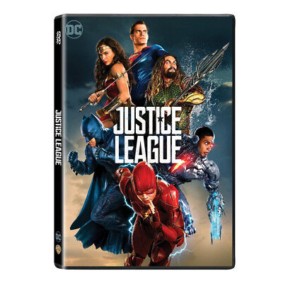 Justice League  Dvd 2017  New  Action Adventure Free Fast Shipping Us Seller
