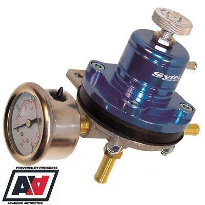 Sytec Motorsport MSV Adjustable Fuel Pressure Regulator & Gauge 1.5 To 6 BAR ADV