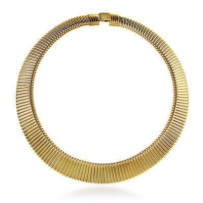 BERRICLE Gold-Tone Fashion Choker Necklace