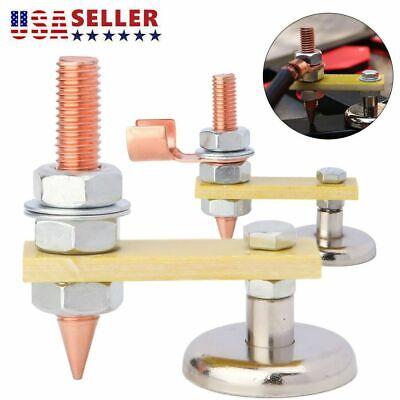 Usa Adjustable Welding Magnet Head Magnetic Welding Support Ground Clamp Holder