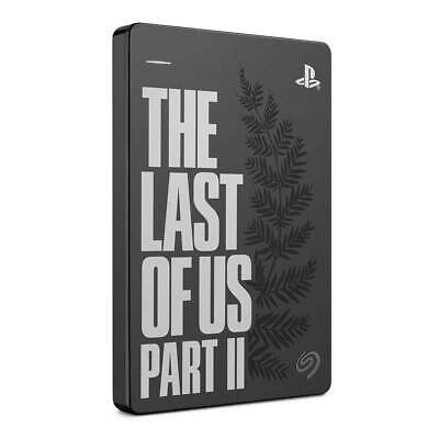Computer Games - Seagate 2TB Game Drive PS4 - The Last Of Us Part II Limited Edition