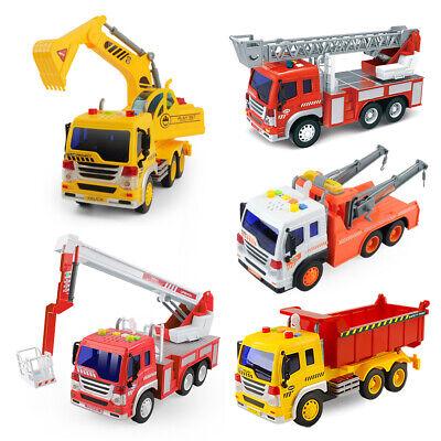 Feuerwehr Feuerwehrauto für Kinder Spielzeug mit Leiter und Sound Spielzeugautos