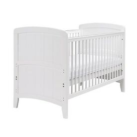 White East Coast Venice Cot Bed (brand new)
