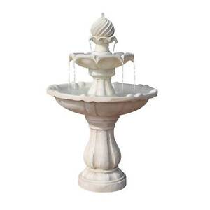 Beautiful Solar Powered Three-Tier Water Fountain Ivory Melbourne CBD Melbourne City Preview