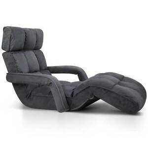 Single Size Lounge Chair with Arms - Charcoal Brisbane City Brisbane North West Preview