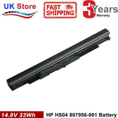 Battery HS04 for HP 250 G4 Laptop 807956-001 807957-001 HS03 HS03031 HSTNN-LB6V