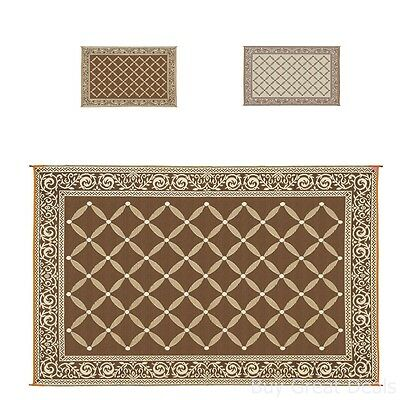 Carpets Area Rug Feet Indoor Floor Outdoor Lightweight Reversible Weave Decor