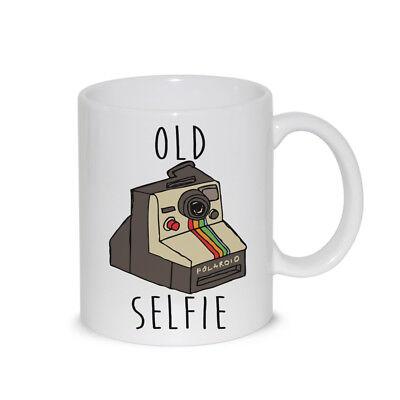 Tazza In Ceramica Thè / Latte Mug Old Selfie - Idea Regalo
