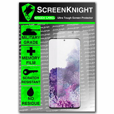 Front Screen Protector for Samsung Galaxy S20 Plus - Curved fit - ScreenKnight